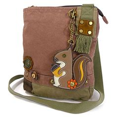 Patch Crossbody BagSquirrelMauve >>> For more information, visit image link.