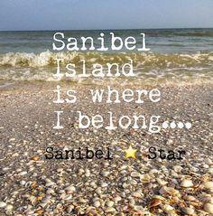Not necessarily Sanibel, but definitely on the Gulf coast!