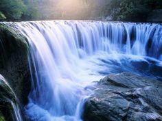 Удивительные водопады