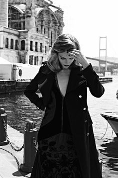 """Jump in time"" Photographer: Koray Birand Magazine: Vogue Hellas (October 2011) Model: Ieva Laguna"