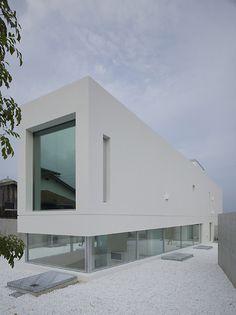 Garden and Sea by Takao Shiotsuka Atelier #arquitetura #architecture #design #building #construção #casa #house