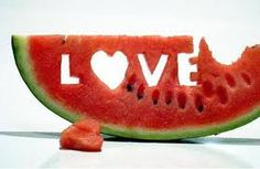 'LOVE' Watermelon