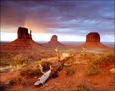 Monument Valley.  It takes a while to get there, but it's worth the drive.
