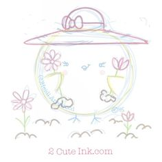 Cute Chick wearing a Sun hat gardening- National Hat Day Cute Sketches, Hat Day, Today Is National, Sun Hats, Gardening, Fun, Kids, Young Children, Boys