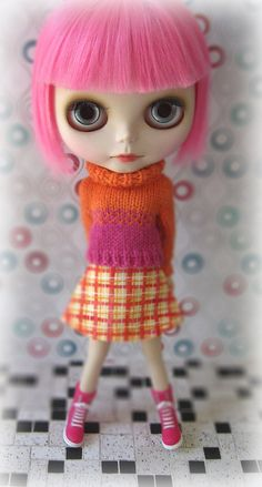 Blythe doll... these are so cute