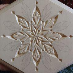 #chipcarving #woodwork de tatbalcarvings