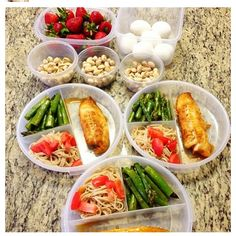 Instagram @myhealthydish meal prep ideas