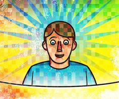 Do The Bright Thing. Alexei Vella illustration portfolio - The artists of Salzman International | Illustration Agency © Alexei Vella. #editorial #advertising #conceptual #illustration salzmanart.com