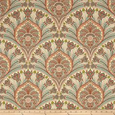 Tommy Bahama Crescent Beach Coral Indoor\Outdoor Fabric - Texas Susannie's