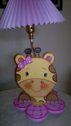 lámpara jirafa