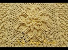 46 New Ideas for crochet flowers easy tutorial baby blankets Crochet Blanket Border, Crochet Beanie Pattern, Crochet Gloves, Crochet Flower Patterns, Crochet Mandala, Crochet Stitches Patterns, Crochet Chart, Crochet Motif, Crochet Doilies