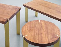 Alice Tacheny Design new Platte Tables. Love 'em.