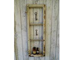 Vintage Bilderrahmen - uraltes Fenster / Fensterrahmen / Sprossenfenster - ein Designerstück von Gerne_wieder bei DaWanda