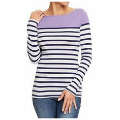 I should go get this - Lavender and Navy, $12.50 at Old Navy