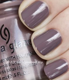 Just painted my nails with this color...so far my favorite color for fall. Love it!!China Glaze Below Deck