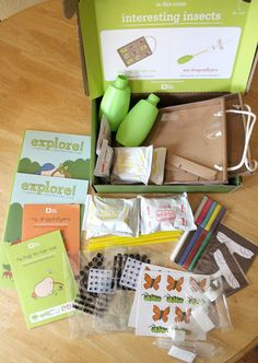 May 2015 @KiwiCrate: Interesting Insects. Check out my Kiwi Crate review for a $10 off coupon code, making your first crate only $9.95! #subscriptionbox #kiwicrate #review #coupon