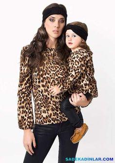 Anne Kız Kombinleri - Kışlık Anne Kız Kombinleri – Anne Kız Kıyafetleri