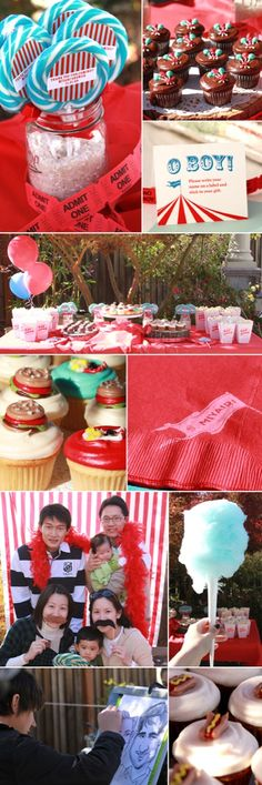 carnival themed baby shower