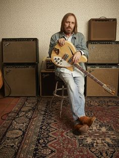 Tom Petty, who died this week, is remembered for leading The Heartbreakers band and joining The Traveling Wilburys. Rickenbacker Guitar, King Bee, Travelling Wilburys, Jeff Lynne, Roy Orbison, Tom Petty, George Harrison, Bob Dylan, Red Cross