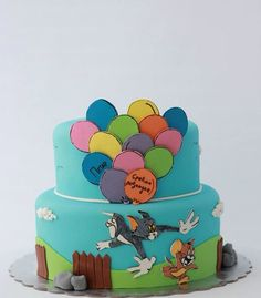 Tom and Jerry birthday cake by BioLed