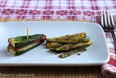 Zucchine grigliate - Due ricette in una