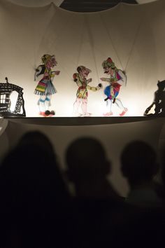 Shadow puppet theatre, Athens