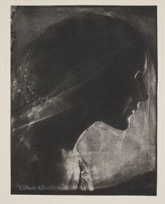 """Gertrude Käsebier, """"The Bride,"""" 1905"""