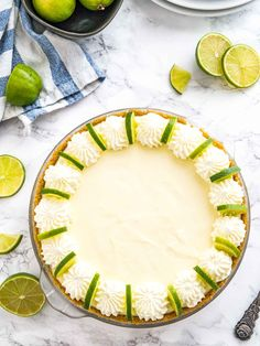 No Bake Key Lime Pie is an easy-to-prep NO-BAKE dessert made with only a few, simple ingredients in less than 20 min. A perfect recipe for summer parties!