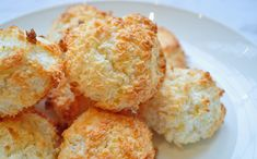 Coconut Macaroons, Shredded Coconut, Chocolate Cookies, Potato Salad, Cauliflower, Muffin, Sweets, Vegetables, Eat