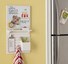 Build your own Martha Stewart Home Office wall manager solution @penny shima glanz Stapleton US