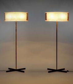 Pair Of Floor Lamps - Pierre Disderot - Pierre Disderot Edition