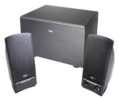 Cyber Acoustics PC computer speakers with subwoofer Powered Speakers, Wireless Speakers, Satellite Speakers, Home Theater Speakers, Speaker System, Stereo Headphones, Pc Computer, Laptop Accessories, Acoustic