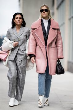 The street style crowd showed off this particular