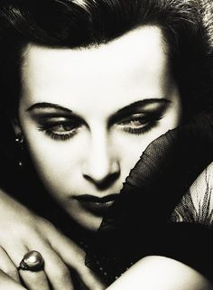 The ever gorgeous Heddy Lamar