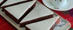Šikmé komíny obalené v kokosu Zucchini, Great Recipes, Cheesecake, Sweets, Food, Author, Lemon, Fine Dining, Cacao Powder