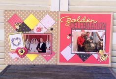 Golden Celebration Layout- Cat & Nat- Front Porch Kits- The Greatest of these is Love