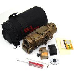 Wholesale Hunting Scopes & Optics - Elcan Specter DR 1X-4X Red Illuminated Scope Reflex Red Dot Sight Black/tan, $303.92