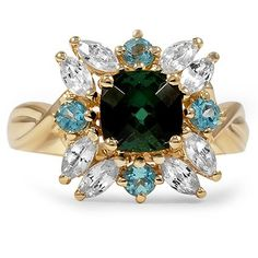 14K Yellow Gold The Anahira Ring from Brilliant Earth