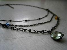Winniearthe: Jewellery: Boho 3 - layer necklace 3 Layer Necklace, Layers, Jewellery, Boho, Bracelets, Silver, Accessories, Ebay, Layering