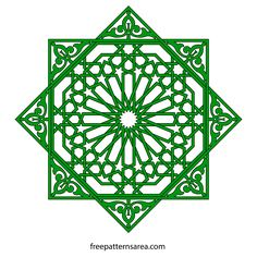 Islamic art generally avoided figurative elements and geometric elements have come to the forefront. There are various reasons for this. Firstly, Islam emerged with the one god belief against the p… Islamic Art Pattern, Arabic Pattern, Free Vector Files, Vector Free, Vector Pattern, Pattern Art, Lotus Artwork, Geometric Coloring Pages, Pagan Beliefs