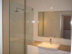 Shower Screen from Rebel Wardrobes and Shower Screens Semi Frameless Shower Screens, Wardrobes, Rebel, Showers, Modern Design, Mirror, Bathroom, Furniture, Home Decor