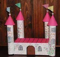 Slott av hushållsrullar och kartong Working With Children, Little Ones, Advent Calendar, Art For Kids, Activities, Holiday Decor, Crafts, Home Decor, Art For Toddlers