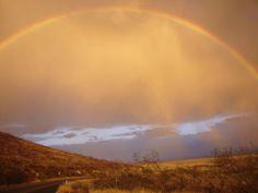 Gila Black Range rainbow