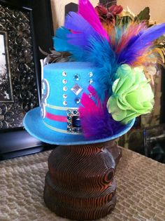 Handmade mini top hat