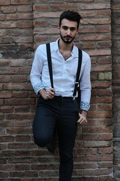 Stylish Icon: Suspenders is the way!