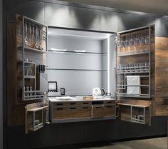 Armoire de rangement pour cuisine COLONNA CHEF DE CUISINE TONCELLI