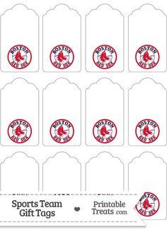 Basketball For Youth Code: 6459390616 Red Sox Baseball, Baseball Party, Baseball Mom, Boston Red Sox Logo, Gift Tags Printable, 40th Birthday, Birthday Ideas, Tea Party, Red Socks