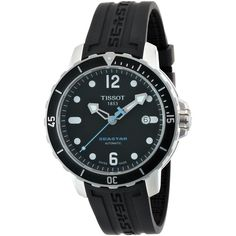 Tissot Men's T066.407.17.057.00 'Seastar' Dial Silicone Strap Watch