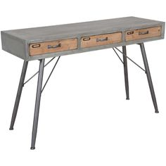 Picture of Mid-Century Industrial Table Desk