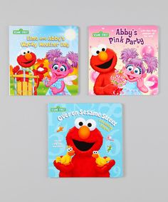 Join beloved Sesame Street characters Elmo and Abby Cadabby as they learn about the four seasons, count from one to 10 and celebrate the fairy-in-training's birthday.Includes Elmo and Abby's Wacky Weather Day, Abby's Pink Party and Over on Sesame StreetWritten by Naomi KleinbergPublis...